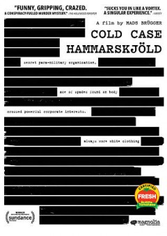 Cold case Hammarskjöld /  Magnolia Pictures, Wingman Media, Piraya Film and Laika Film & Television present ; in co-production with Associate Directors, DR, SVT, Bertha Foundation-Doc Society, Film i Väst, BBC Storyville, RTBF, Geo Television ; produced by Peter Engel, Bjarte Mørner Tveit, Andreas Rocksén ; written and directed by Mads Brügger. - Magnolia Pictures, Wingman Media, Piraya Film and Laika Film & Television present ; in co-production with Associate Directors, DR, SVT, Bertha Foundation-Doc Society, Film i Väst, BBC Storyville, RTBF, Geo Television ; produced by Peter Engel, Bjarte Mørner Tveit, Andreas Rocksén ; written and directed by Mads Brügger.