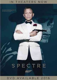 Spectre  /  Metro Goldwyn Mayer ; Albert R. Broccoli's Eon Productions LTD. presents ; written by John Logan and Neal Purvis & Robert Wade and Jez Butterworth ; produced by Michael G. Wilson and Barbara Broccoli ; directed by Sam Mendes.