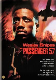 Passenger 57 /  Warner Bros. Pictures presents a Lee Rich production ; a Kevin Hooks film ; story by Stewart Raffill and Dan Gordon ; screenplay by David Loughery and Dan Gordon ; produced by Lee Rich, Dan Paulson and Dylan Sellers ; directed by Kevin Hooks. - Warner Bros. Pictures presents a Lee Rich production ; a Kevin Hooks film ; story by Stewart Raffill and Dan Gordon ; screenplay by David Loughery and Dan Gordon ; produced by Lee Rich, Dan Paulson and Dylan Sellers ; directed by Kevin Hooks.