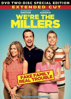 We're the Millers /  New Line Cinema presents ; a Newman, Tooley Films, Slap Happy Productions, Heyday Films and Benderspink production ; story by Bob Fisher & Steve Faber ; screenplay by Bob Fisher & Steve Faber and Sean Anders & John Morris ; produced by Vincent Newman, Tucker Tooley, Happy Walters, Chris Bender ; directed by Rawson Marshall Thurber. - New Line Cinema presents ; a Newman, Tooley Films, Slap Happy Productions, Heyday Films and Benderspink production ; story by Bob Fisher & Steve Faber ; screenplay by Bob Fisher & Steve Faber and Sean Anders & John Morris ; produced by Vincent Newman, Tucker Tooley, Happy Walters, Chris Bender ; directed by Rawson Marshall Thurber.