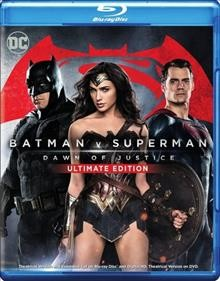 Batman v Superman : dawn of justice [2-disc set] / written by Chris Terrio and David S. Goyer ; produced by Charles Roben and Deborah Snyder ; directed by Zack Snyder. - written by Chris Terrio and David S. Goyer ; produced by Charles Roben and Deborah Snyder ; directed by Zack Snyder.