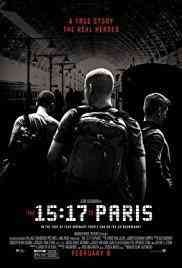 The 15:17 to Paris /  Warner Bros. Pictures presents ; in association with Village Roadshow Pictures ; a Malpaso production ; directed and produced by Clint Eastwood ; screenplay by Dorothy Blyskal ; produced by Tim Moore, Kristina Rivera, Jessica Meier ; in association with Access Entertainment and Dune Entertainment. - Warner Bros. Pictures presents ; in association with Village Roadshow Pictures ; a Malpaso production ; directed and produced by Clint Eastwood ; screenplay by Dorothy Blyskal ; produced by Tim Moore, Kristina Rivera, Jessica Meier ; in association with Access Entertainment and Dune Entertainment.