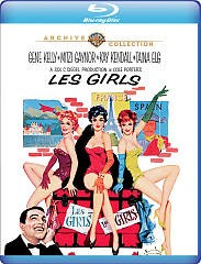 Les girls /   M-G-M presents ; a Sol C. Siegel production ; screenplay by John Patrick ; story by Vera Caspary ; directed by George Cukor. -  M-G-M presents ; a Sol C. Siegel production ; screenplay by John Patrick ; story by Vera Caspary ; directed by George Cukor.