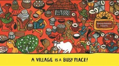 A village is a busy place! /  text: V. Geetha ; illustrations: Rohima Chitrakar. - text: V. Geetha ; illustrations: Rohima Chitrakar.