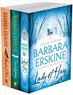 Barbara Erskine 3-Book Collection: Lady of Hay, Time's Legacy, Sands of Time :