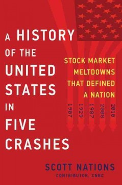 A history of the United States in five crashes : stock market meltdowns that defined a nation / Scott Nations.