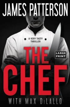The chef /  James Patterson with Max DiLallo. - James Patterson with Max DiLallo.