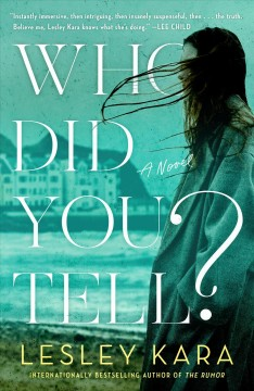 Who did you tell? : a novel / Lesley Kara.