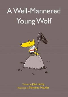 Well-mannered Young Wolf