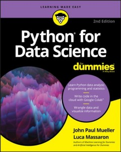 Python for data science /  by John Paul Mueller and Luca Massaron.