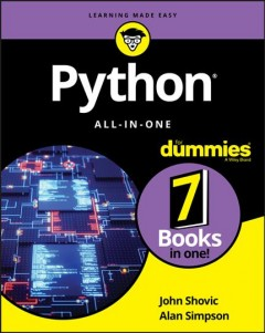 Python all-in-one /  by John Shovic and Alan Simpson.