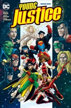 Young Justice Volume 4 /  Peter David, Todd Dezago [and six others], writers ; Todd Nauck, Mike McKone, Humberto Ramos [and nine others], pencillers ; Lary Stucker, Mark McKenna, Wayne Faucher, Paul Neary [and eight others], inkers ; Jason Wright [and six others], colorists ; Digital Chameleon, separator ; Ken Lopez [and seven others], letterers ; Todd Nauck, Lary Stucker, Patrick Martin, collection cover artists. - Peter David, Todd Dezago [and six others], writers ; Todd Nauck, Mike McKone, Humberto Ramos [and nine others], pencillers ; Lary Stucker, Mark McKenna, Wayne Faucher, Paul Neary [and eight others], inkers ; Jason Wright [and six others], colorists ; Digital Chameleon, separator ; Ken Lopez [and seven others], letterers ; Todd Nauck, Lary Stucker, Patrick Martin, collection cover artists.