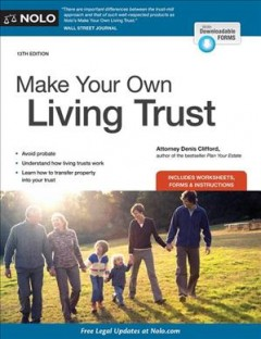 Make your own living trust /  attorney Denis Clifford.