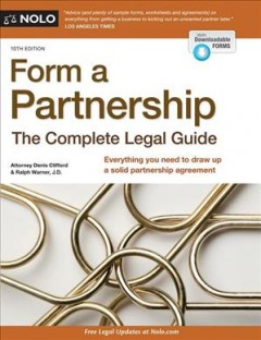 Form a Partnership : The Complete Legal Guide