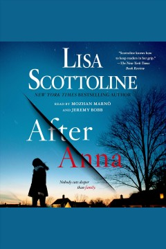After Anna /  by Lisa Scottoline. - by Lisa Scottoline.