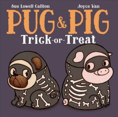 Pug and Pig Trick-or-Treat