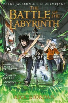 Percy Jackson and the Olympians 4 : The Battle of the Labyrinth