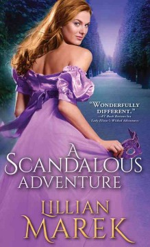 A scandalous adventure /  Lillian Marek. - Lillian Marek.