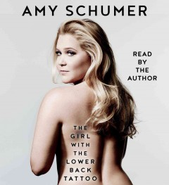The girl with the lower back tattoo /  Amy Schumer.
