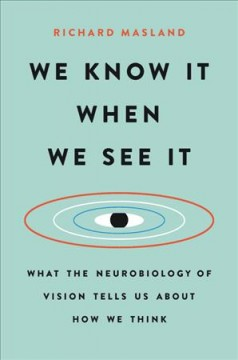 We Know It When We See It : What the Neurobiology of Vision Tells Us About How We Think