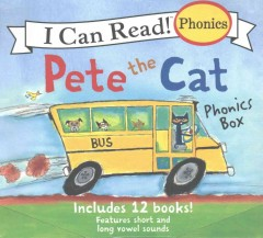 Pete the Cat Phonics Box : 12 Books in 1