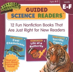 Guided science readers. 12 fun nonfiction books that are just right for new readers.