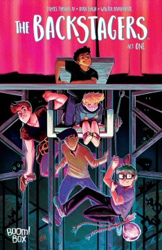 The Backstagers.  created by James Tynion IV and Rian Sygh ; written by James Tynion IV ; illustrated by Rian Sygh ; colors by Walter Baiamonte ; letters by Jim Campbell.