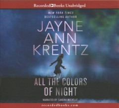 All the colors of night /  Jayne Ann Krentz. - Jayne Ann Krentz.
