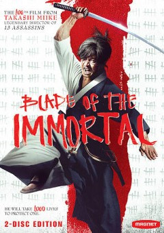 Blade of the immortal [2-disc set] /  Magnet Releasing presents ; Warner Bros. Pictures Japan presents ; a Takashi Miike film. - Magnet Releasing presents ; Warner Bros. Pictures Japan presents ; a Takashi Miike film.